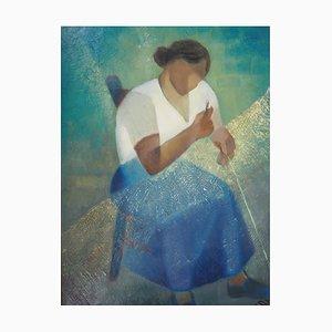 The Fishermans Wife Ölgemälde von Louis Toffoli