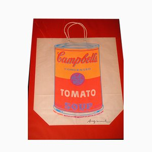 Serigrafia Campbell's Soup Shopping Bag di Andy Warhol, 1966