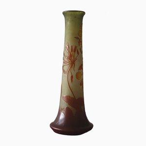 Glaspaste Vase von Émile Galle