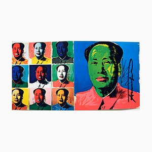 Mao Invitation Card by Andy Warhol, 1972