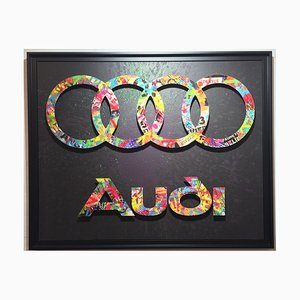 Audi Mixed Media Artwork by Aiiroh