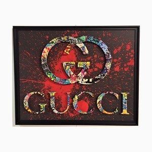 Gucci Mixed Media Artwork by Aiiroh