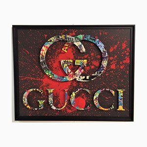 Gucci Mixed Media Artwork von Aiiroh