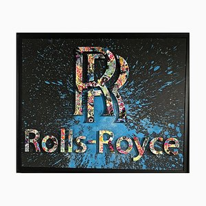 Rolls-Royce Mixed Media Artwork by Aiiroh