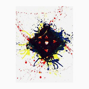 Lithograph by Sam Francis