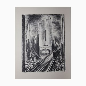 Paul MORAND - New York illustrated by ADRIAAN LUBBERS - Lithographs, Numbered copy