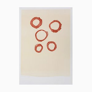 Five Circles Lithograph by Robert Motherwell, 1972