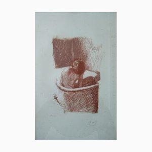 Litografia The Bath di Pierre Bonnard