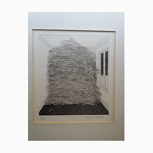 Room Full of Straw Radierung von David Hockney, 1969