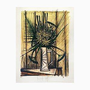 Daisies and Irises Lithograph by Bernard Buffet
