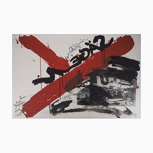 The Scream Lithographien von Wolf Vostell, 1990, 10er Set