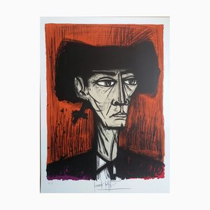 Bernard Buffet - Escamillo, 1981, colour lithograph C. SORLIER engraver, proof on Arches signed by hand
