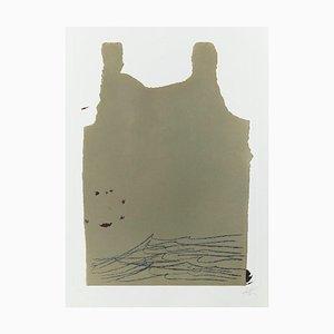 Aparicions 6 Radierung von Antoni Tapies, 1982