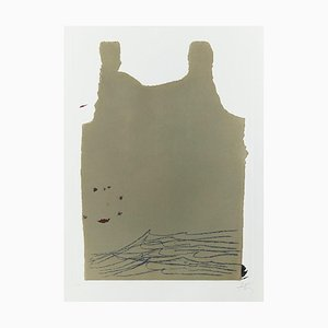 Incisione Aparicions 6 di Antoni Tapies, 1982