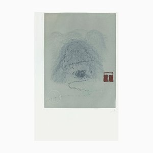 Aparicions 3 Radierung von Antoni Tapies