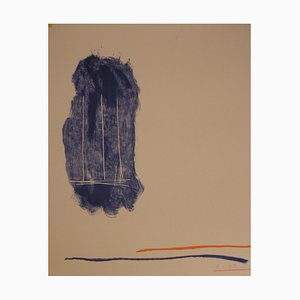 Robert Motherwell, pour St-Gall, 1971, Lithographie