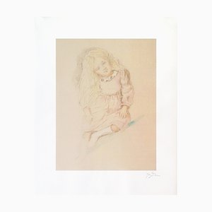Litografia Valérie di Balthus Balthasar Klossowski, 1994
