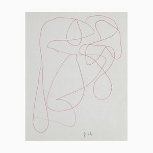 Composition Drawing by Gaston Chaissac