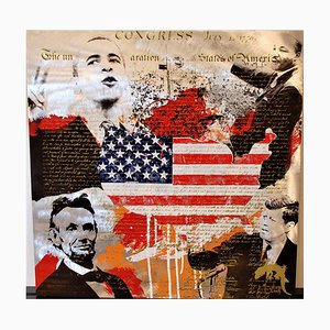 Presidents Mixed Media Artwork by Devin Miles