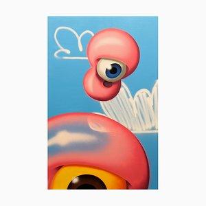 Envolée 3 Gemälde von Gum