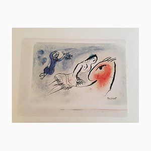 Greeting Card for Aimé Maeght Lithograph by Marc Chagall