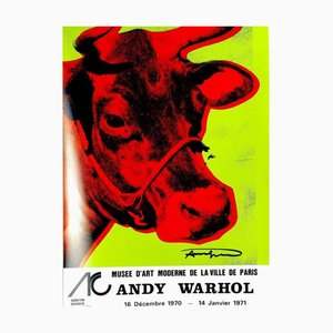 Cow Poster by Andy Warhol, 1971
