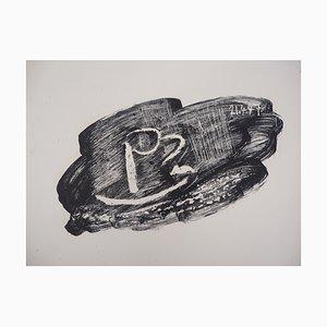 Litografia The Black Cup di Pablo Picasso, 1947