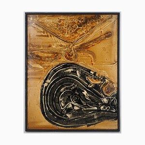 Dipinto ad olio di Les Ultimes Racines di Jean-Pierre Vielfaure