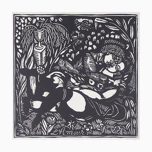 Acquaforte Love di Raoul Dufy