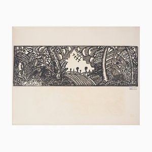 The Hunt Engraving by Raoul Dufy, 1910