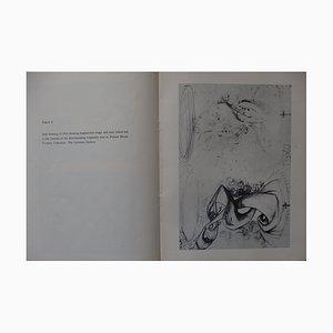 Escritura de Salvador Dali - autógrafo con dibujo, firmado