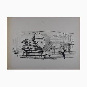 Bernard BUFFET - Siemens 1968, 4 print proofs