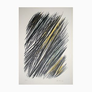 L 19 Lithograph by Hans Hartung, 1957