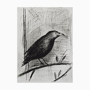 The Raven Etching by Bernard Buffet