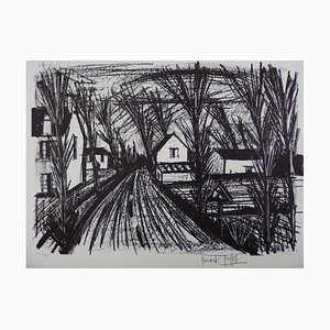 Country Road Lithograph by Bernard Buffet