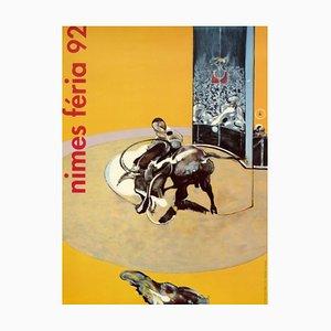 Feria of Nimes Poster von Francis Bacon, 1992