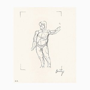 Madrid Codices 1 Lithographie von Joseph Beuys