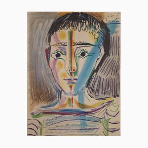 Man in Sailor Lithograph by Pablo Picasso