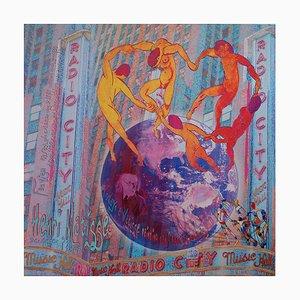 Dance around the World Mixed Media Artwork von Alan Berg