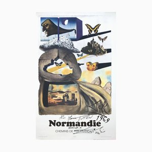 ButterFly Suite: Normandy Lithograph by Salvador Dali