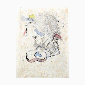 Incisione The Drawers di Salvador DALI, 1967