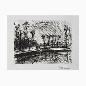 Near the River Etching by Bernard Buffet