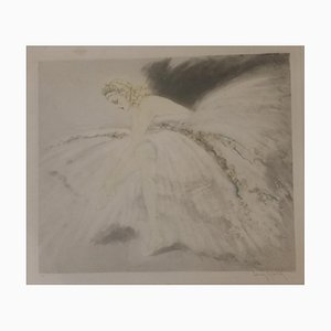 Louis Icart Ballerina Engraving by M. L. Stowell, 1939