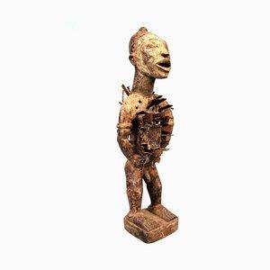 DRC, Bakongo, Fetisch mit Nägeln