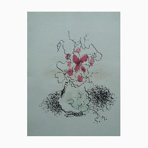 The Vase Lithograph Georges Braque