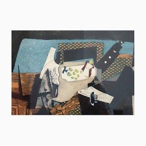 Georges BRAQUE (after): Cubist Still Life - Aquatint, 1950