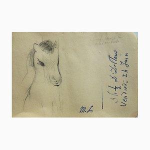 Little Poney Zeichnung von Marie Laurencin