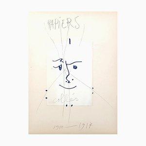 Litografía Papiers Collés de Pablo Picasso