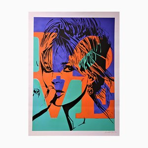 Love Kate Silkscreen by Louis-Nicolas Darbon