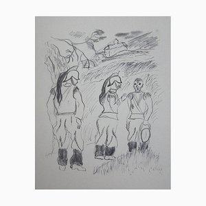 Eliane BONABEL / Louis-Ferdinand CELINE - ILLUSTRATIONS VOYAGE AU BOUT DE LA NUIT n° 28/100